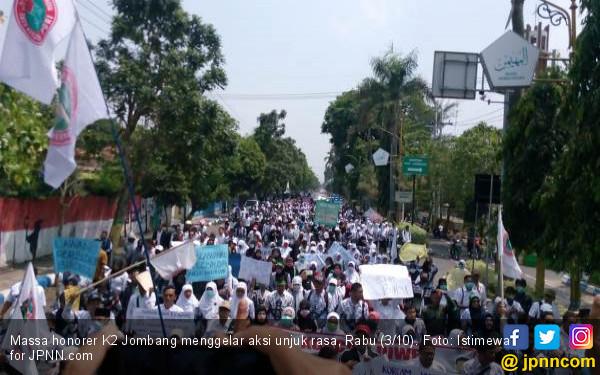 Titi: Honorer K2 Mogok karena Tidak Diperhatikan Pemerintah