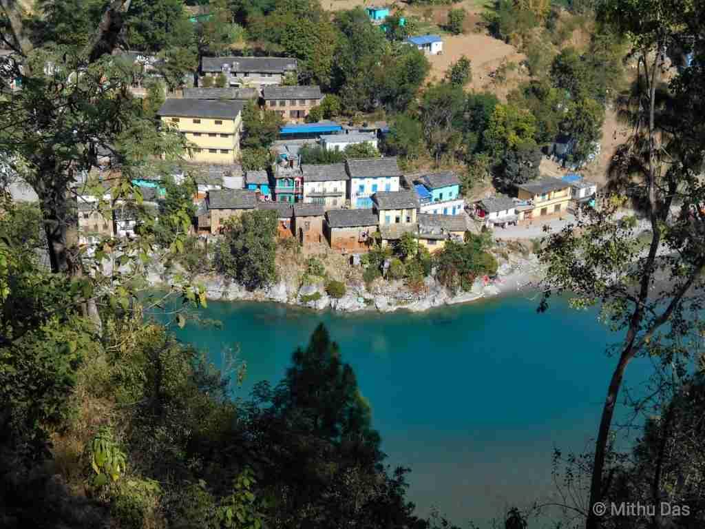 Dipayal village on Seti River