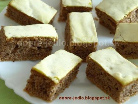 Orechový koláč s minerálkou - recepty
