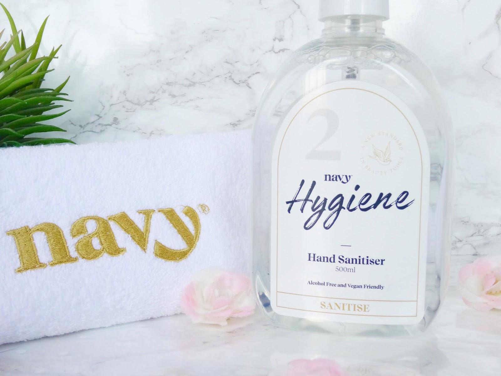 Navy Hygiene Hand Sanitiser