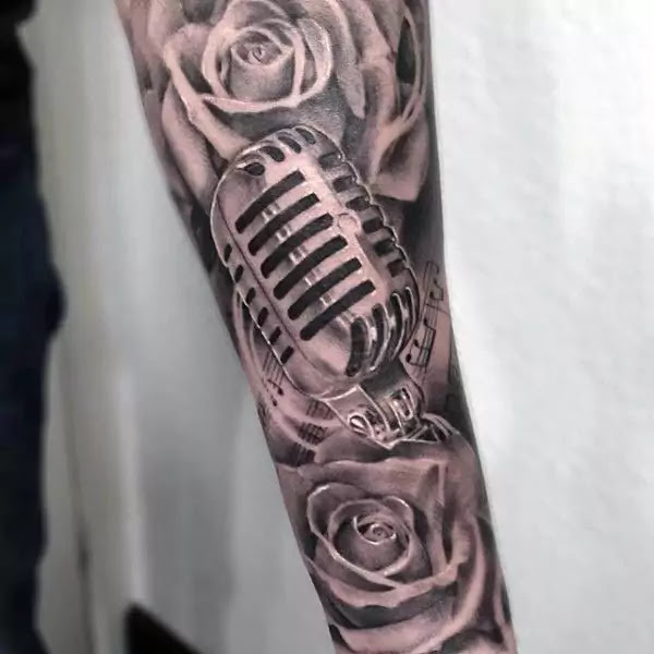 Music Tattoos For Women Manly Designs With Harmony