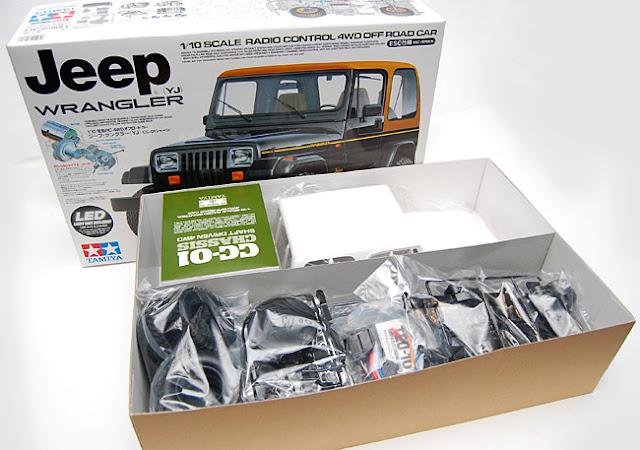 Tamiya Jeep Wrangler CC01 Box