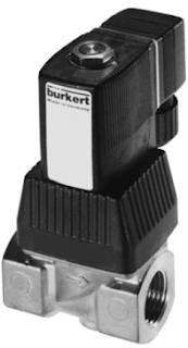 Burkert Type 6221 Piston Valve 2/2 Way Servo-assisted