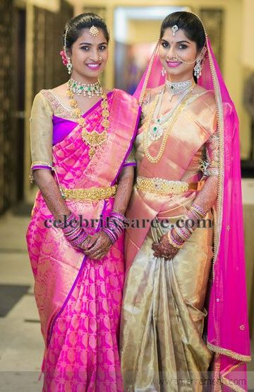 Attractive South Indian Wedding Sarees