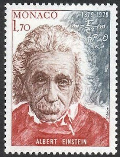 Monaco 1979 Birth Centenary of Albert Einstein