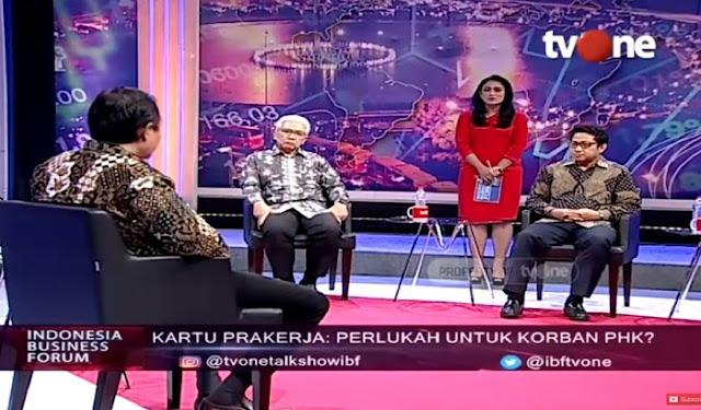 Narsum tvOne: BOM WAKTU Rp 5,6 Triliun Pelatihan Online Kartu Pra-Kerja, Hati-hati Pak Jokowi, Ini Seperti BLBI