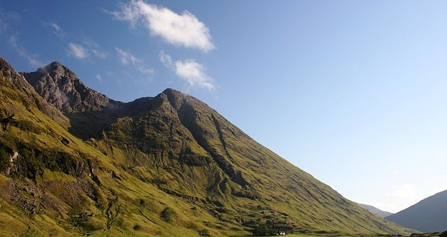 Some mountains in Glen coe