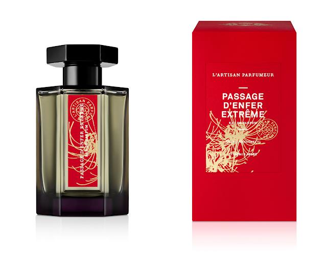 passage d'enfer extrême l'artisan parfumeur avis, passage d'enfer extrême, l'artisan parfumeur, nouveau parfum l'artisan parfumeur, parfum femme, perfume review, perfume, fragrance, parfum pour femme, parfumerie féminine, blog sur les parfums