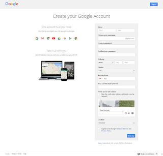 Langkah Ketiga Cara Buat Email Gmail