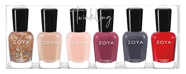 Zoya Twinkling Sampler A