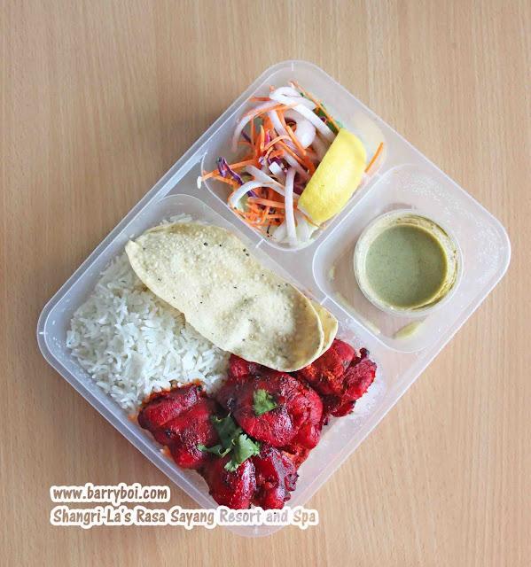 Shang Shack Drive-thru Pick Up by Shangri-La's Rasa Sayang Resort & Spa Penang Hotel Blogger Influencer Malaysia Makan Sedap Delicious Food Chicken Tikka