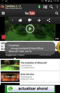Download TubeMate APK For Android Free For Mobiles And Tablets With A Direct Link.