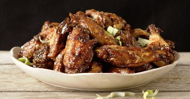 Honeyed Chicken Wings Recipe