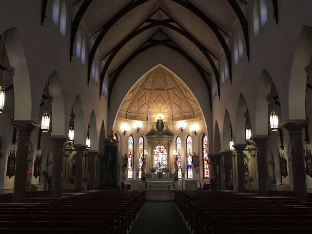 Saint Patrick Cathedral sanctuary, Fort Worth, Texas