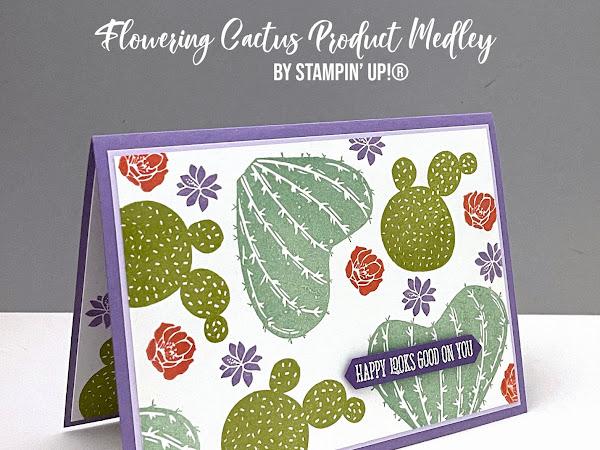 Kylie's Demonstrator Training Program Blog Hop April 2021 | Flowering Cactus Product Medley