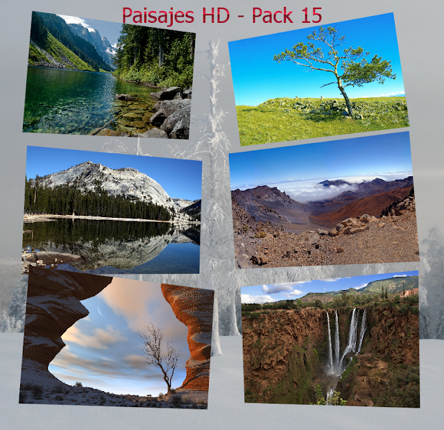 Wallpapers paisajes HD - Pack 15 [ZOMG Upload/Deposit Files]
