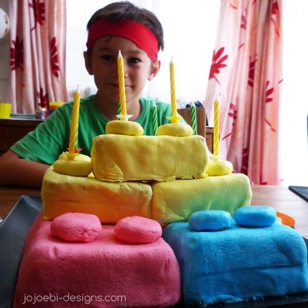 jojoebi designs: Ninjago Birthday Party - food