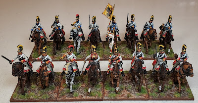 Perry Napoleonic Austrian Cuirassiers and Dragoons