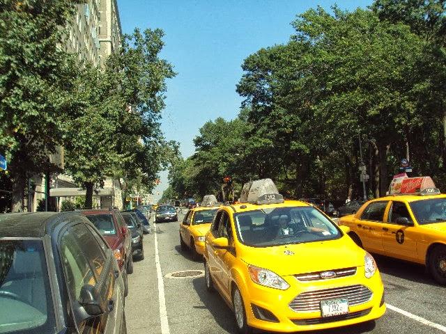 táxi amarelo NY