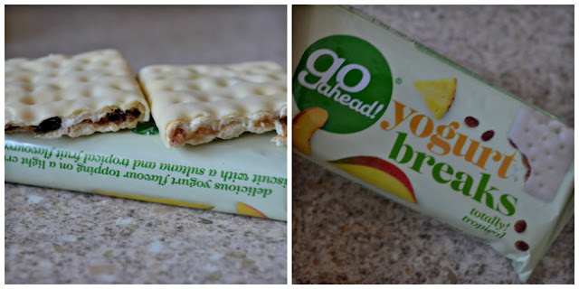 GO AHEAD!  Healthy Snacks - Yogurt breaks review