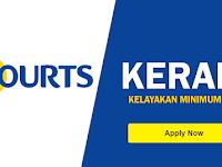 Jawatan Kosong Kerani di Courts Malaysia Sdn Bhd - Minimum SPM