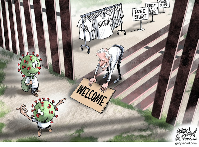 Biden cause virus