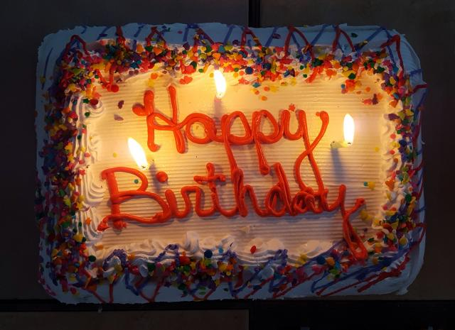 Happy Birthday Images on Cake Free Download