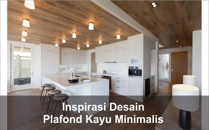 plafon kayu interior minimalis