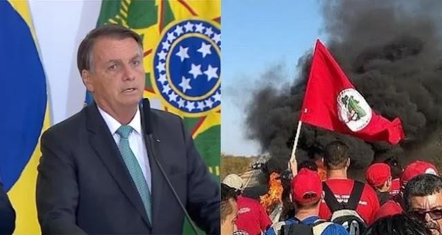 EM ANÚNCIO SURPREENDENTE, BOLSONARO PREVÊ FIM DO MST E DO TERROR NO CAMPO