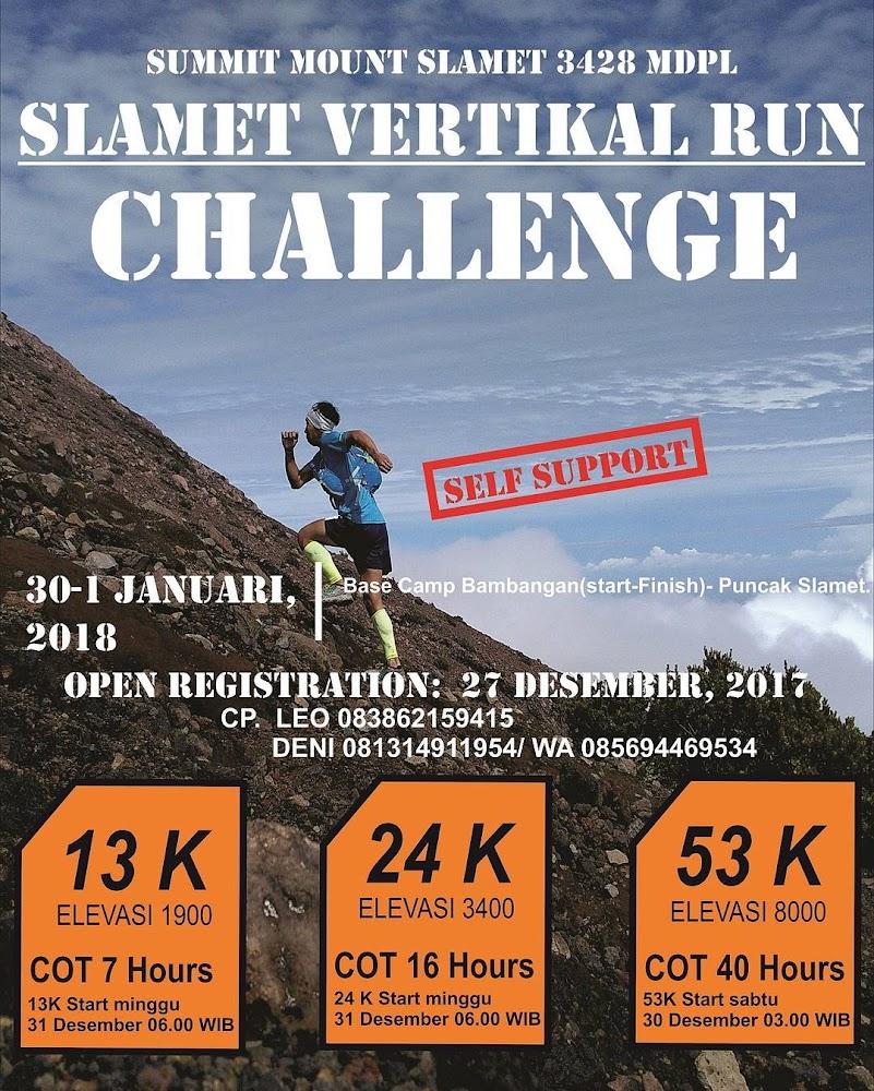 Slamet Vertical Run Challenge • 2018
