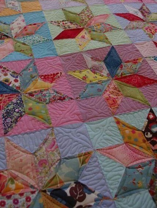 Eight-Pointed Star Quilt Block - Tutorial
