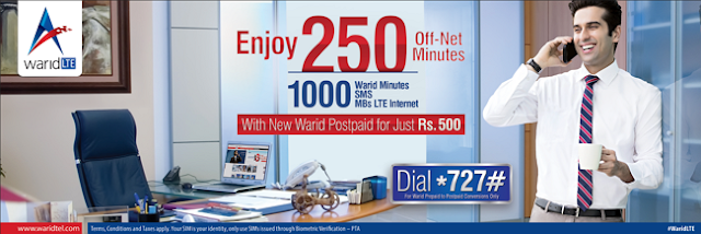 #Warid Launches Super & Unlimited Monthly Bundles for its New Postpaid Customers