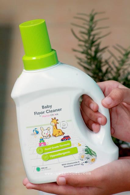 foto mamas choice pembersih lantai baby floor cleaner