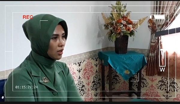 Ketua Persit KCK Kodim Barabai Sampaikan Selamat Hari Anak Nasional