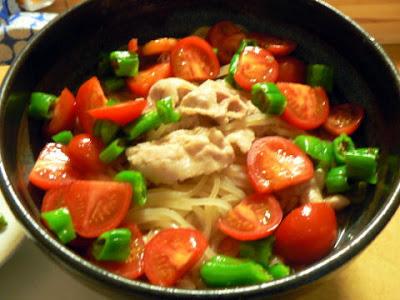 サラダレシピ 野菜冷麺