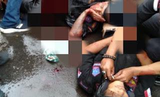 Innalillahi! Dua Ormas Terlibat Bentrok di Sukabumi, Korban Berjatuhan, Badan Penuh Luka Sabetan
