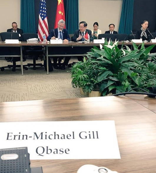 Erin-Michael Gill's Blog: Speaking at the US-China Innovation Dialogue