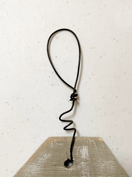 wire wrapped hanger