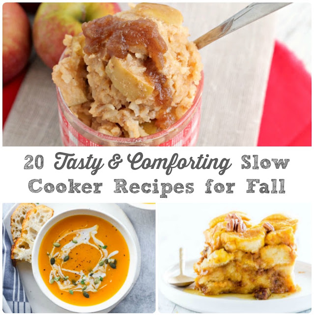 You are sure to find a cozy slow cooker recipe to keep you and your family warm and satisfied in this collection of 20 Tasty & Comforting Slow Cooker Recipes for Fall.
