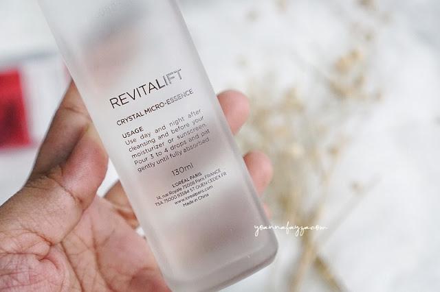 Review L'Oréal Paris Revitalift Crystal Micro-Essence