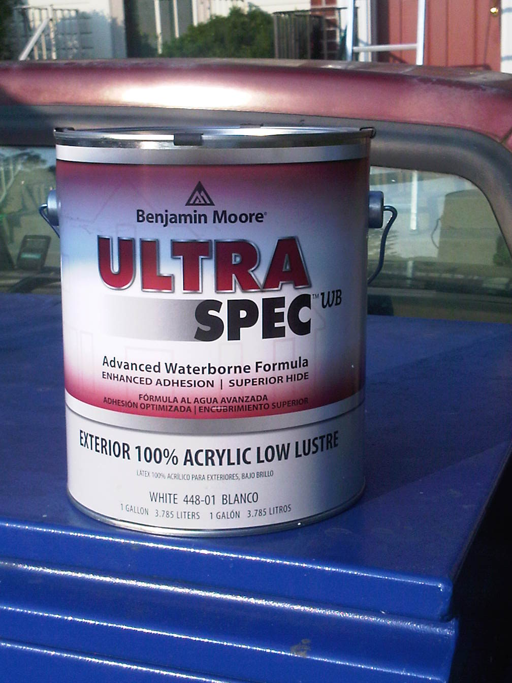 Painting annapolis coming soon to a paint store near you - Benjamin moore ultra spec exterior ...