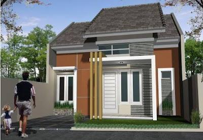 Contoh Foto Desain Rumah Minimalis 1 Lantai Type 45