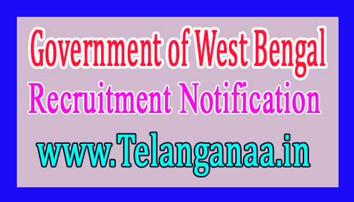 Government of West Bengal – Office of the District Magistrate Recruitment Notification 2017