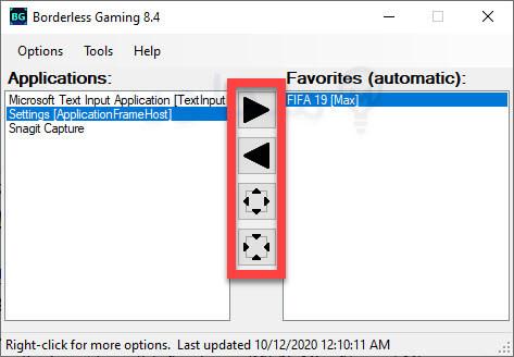 برنامج تشغيل الالعاب بشاشة كاملة مجاناً