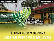 Jawatan Kosong di Jabatan Pertanian Malaysia (DOA)