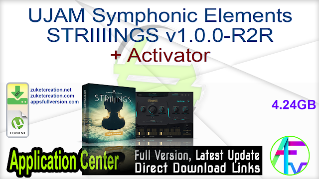 UJAM Symphonic Elements STRIIIINGS v1.0.0-R2R + Activator