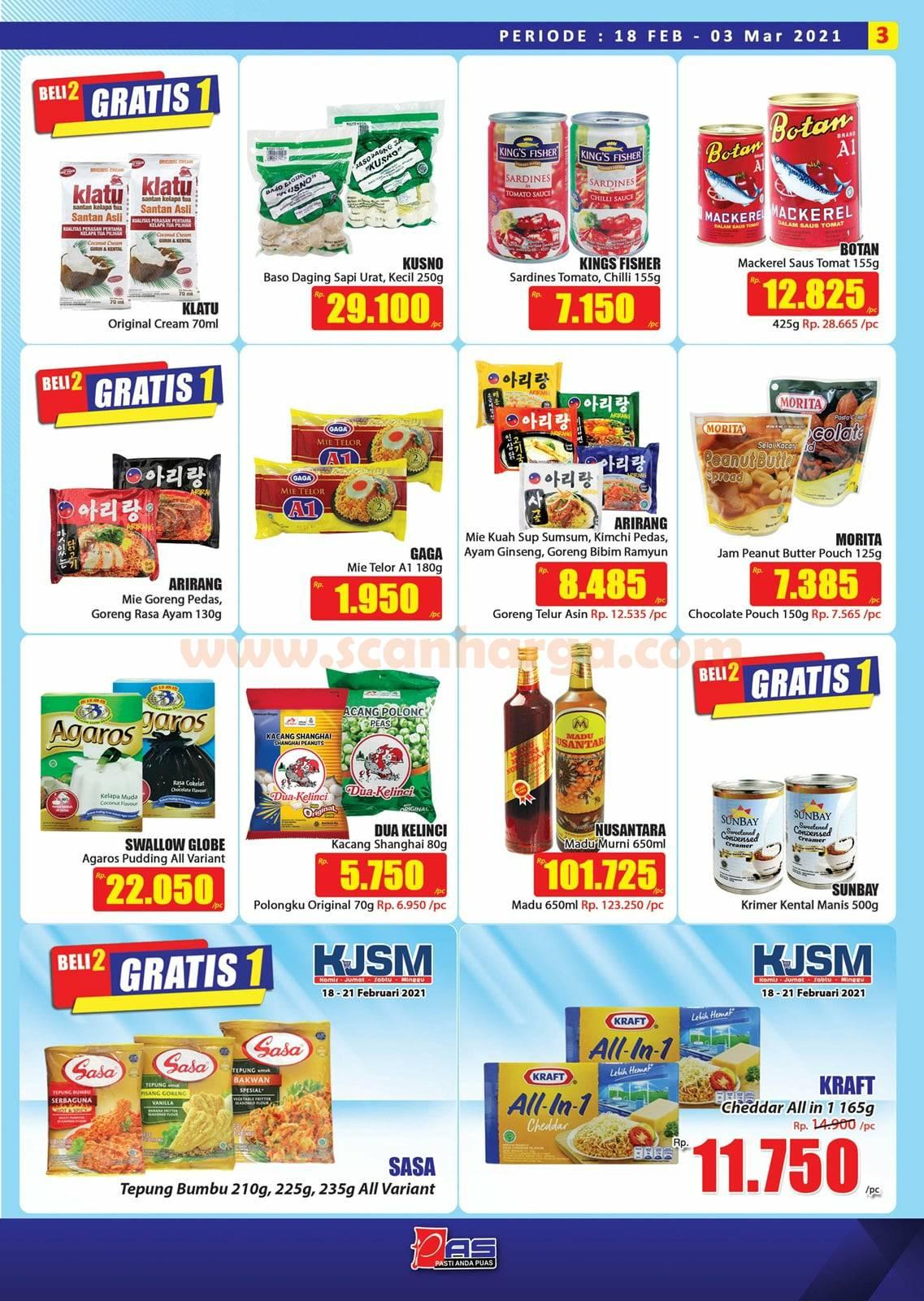 Katalog Promo Hari Hari Pasar Swalayan 18 Februari - 3 Maret 2021 3