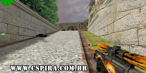 AWP | Flaming Hot Sniper para CS 1.6