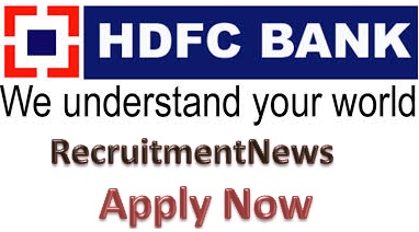 Recruitment News 2016: HDFC Bank Recruitment 2016 for PO, Clerk ...