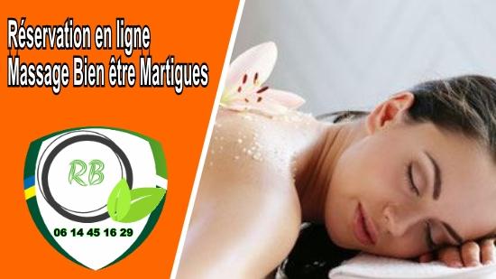 Réservation en ligne - Massage Bien être Martigues;